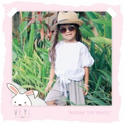 Veyl Kids - Nadine Top - White