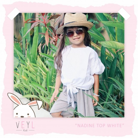 Veyl - Nadine Top - White