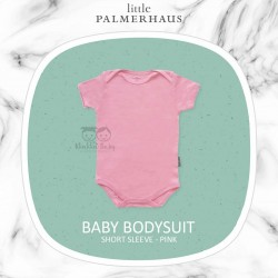 Little Palmerhaus - Baby Bodysuit Short Sleeve (Jumper) - Pink