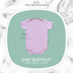 Little Palmerhaus - Baby Bodysuit Short Sleeve (Jumper) - Purple