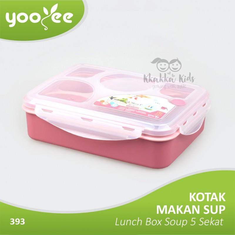 ... Yooyee - Kotak Makan Sup Bento Lunch Box Soup 5 Sekat