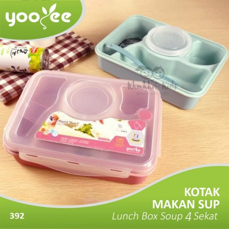 Yooyee - Kotak Makan Sup Bento Lunch Box Soup 4 Sekat