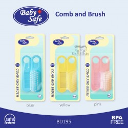 Baby Safe - Comb and Brush BD195