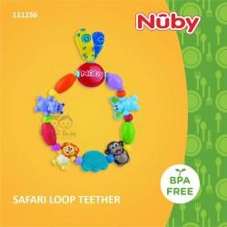 Nuby - Safari Loop Teether (111236)