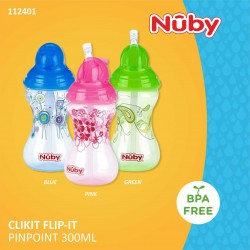 Nuby - Clikit Flip-it Pinpoint 300ml (112401)