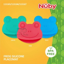 Nuby - Frog Silicone Placemat (115165/115166/115167)