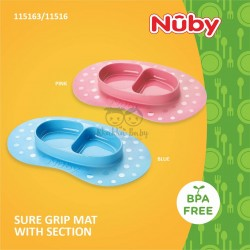 Nuby - Sure Grip Mat With Section (115163/115164)