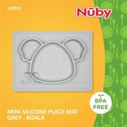 Nuby - Mini Silicone Placemat Grey -Koala (120929)