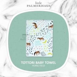 Little Palmerhaus - Tottori Baby Towel - Horse Field