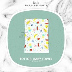 Little Palmerhaus - Tottori Baby Towel - Tutti Fruity