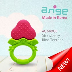Ange - Strawberry Ring Teether