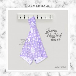 Little Palmerhaus - Baby Hooded Towel - Fairy Purple