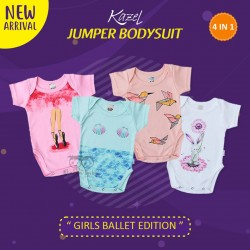 Kazel - Jumper Bodysuit (4 pcs/pack) - Girl Ballet Edition