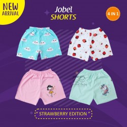 Jobel - Shorts (4 pcs/pack) - Strawberry Edition
