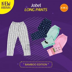 Jobel - Long Pants (4 pcs/pack) - Bamboo Edition