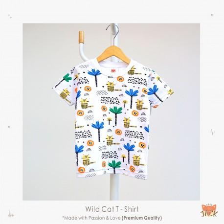 Little Jack - Wild Cat T-shirt