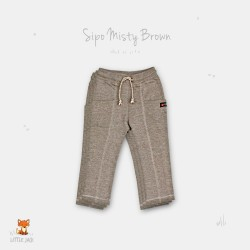Little Jack - Side Pocket (SIPO) Pant - Misty Brown