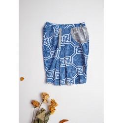 Veyl Kids - Caren Skirt Batik - Blue