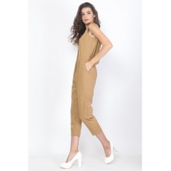 Veyl Women - Quinza Jumpsuit - Brown