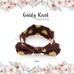 Goldy Knot Headwrap