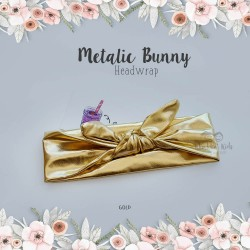 Metallic Bunny Headwrap