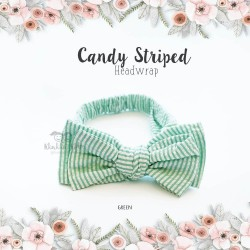 Candy Striped Headwrap