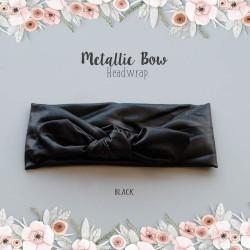 Metallic Bow Headwrap