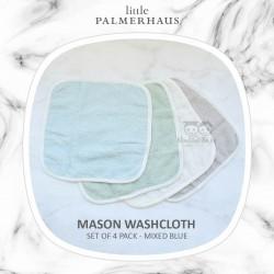 Little Palmerhaus - Mason Washcloth (Set of 4 Pack)