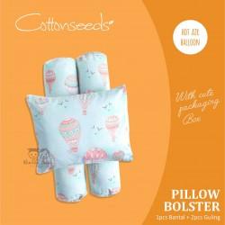 Cottonseeds - Pillow Bolster - Hot air Balloon
