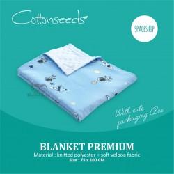 Cottonseeds - Blanket - Spaceship