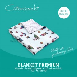 Cottonseeds - Blanket - Little Red Riding Hood