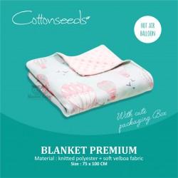 Cottonseeds - Blanket - Hot air Balloon