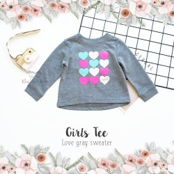 Place Sweater Jogger - Love Gray Sweater
