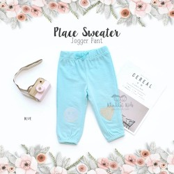 Place Sweater Jogger Pant - Blue
