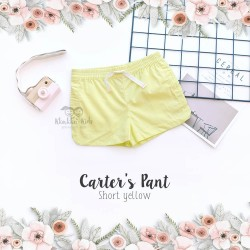Carter's Pant  - Short Yellow