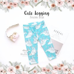 Cute Legging - Frozen Blue
