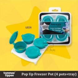 Tommee Tippee - Pop Up Freezer Pot (4 pots + tray)