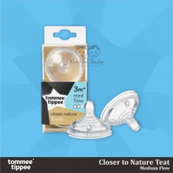 Tommee Tippee - Closer to Nature Teat - Medium Flow