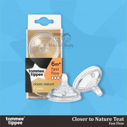 Tommee Tippee - Closer to Nature Teat - Fast Flow