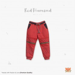 Little Jack - Red Diamond Pant
