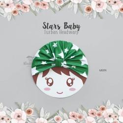 Stars Baby Turban Headwrap
