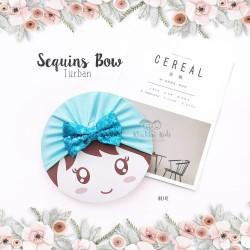 Sequins Bow Turban