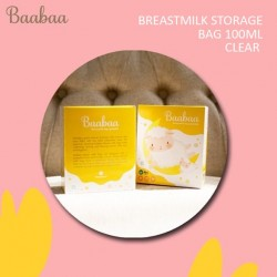 Baabaa - Breastmilk Storage Bag 100ML - CLEAR
