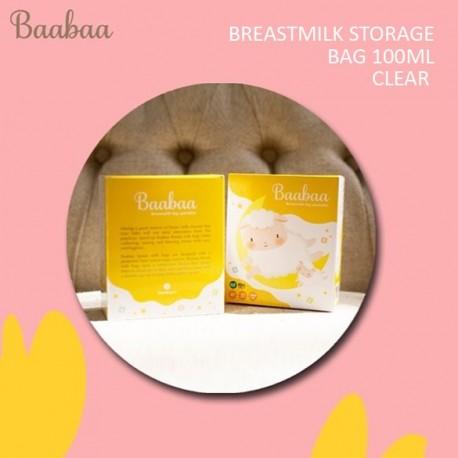 Baabaa - Breastmilk Storage Bag 100ML - CLEAR