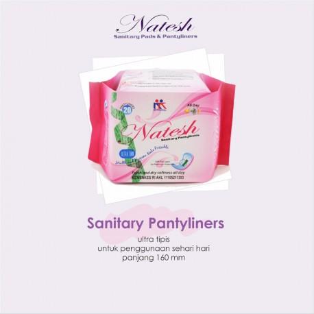 Natesh - Sanitary Pads/Pembalut - Pantyliner