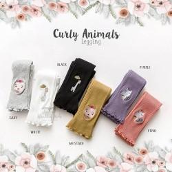 Curly Animals Leggings