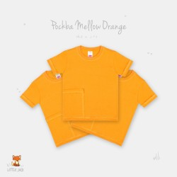 Little Jack - Pocket Basic T-Shirt - Mellow Orange