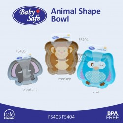 Baby Safe - Animal Shape Bowl FS403