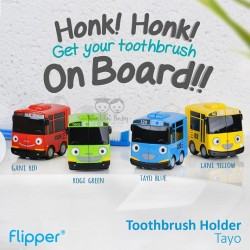 Flipper - Toothbrush Holder Tayo - Tayo Blue