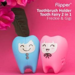 Flipper - Toothbrush Holder Tooth Fairy 2 in 1 - Freckie & Gigi
